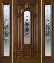 Decorating wood front entry doors with sidelights images : front door with sidelights and transom saratoga | Exterior Doors ...