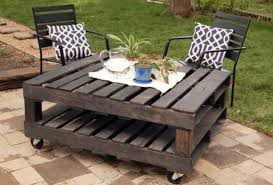Patio From Pallets Sprucing Up Your Patio Furniture Billy Parker Exteriors
