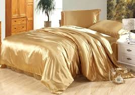 silk sheet set luxury camel tanning bedding satin sheets super king queen full twin size duvet cover fitted bed in a bag quilt canada