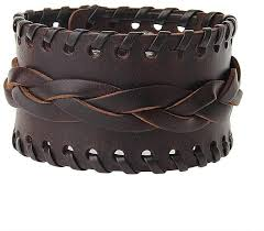 product images gallery fashion leather bracelets rope wearing fashionable men s