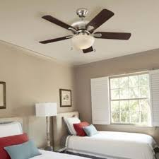 Rustic ceiling fans lowes Cabin Style Ceiling Fan With Five Wooden Blades And Dome Light In Bedroom Smotgoinfocom Ceiling Fans Accessories