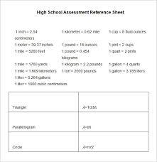 Free 12 Sample Reference Sheets In Google Docs Google