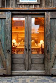 rustic double front door. Sliding Barn Doors Are Everywhere And These Great Ideas To Help You Select The Rustic Double Front Door M
