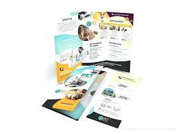 2 Folded Brochure Template Brochure Template 2 Fold Free Tri Fold Brochure Template