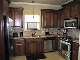 dark stained kitchen cabinets. Wonderful Dark Kitchen Cabinet Wood Stain Colors SCICLEAN Home Design Popular For Idea 2 With Dark Stained Cabinets