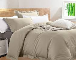 new egyptian cotton bamboo king size mushroom quilt cover set rrp 219 99 9326250071197