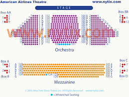 American Airlines Theatre On Broadway In Nyc