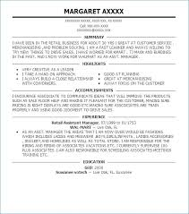 Retail Assistant Manager Resume Objective Assistant Property Manager Resume Objective artemushka 96