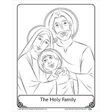 Small Picture Coloring Page The Holy Family Coloring Pages Pinterest