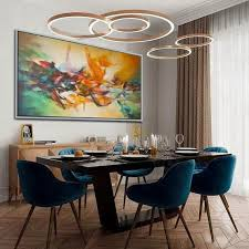 dining room paint matching wall art