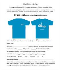 clothing order form template word 26 t shirt order form templates pdf doc free premium templates