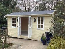 summer house office. garden shed studio office summer house workshop 3m x 5m fully o