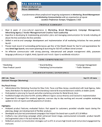 Manager Resume Sample Mesmerizing Marketing Manager CV Format Marketing Manager Resume Sample And