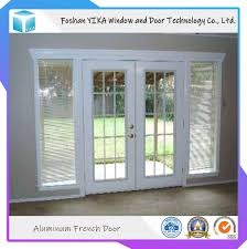 Sliding French Door Designs China Main Door Design Double Tempered Glass Aluminum Swing