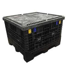 Heavy Duty Collapsable Storage Container with Lid