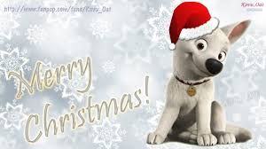 cute merry christmas wallpaper dogs. Beautiful Dogs Disneyu0027s Bolt Images Merry Christmas Disney Cute Wallpaper HD  Wallpaper And Background Photos For Dogs