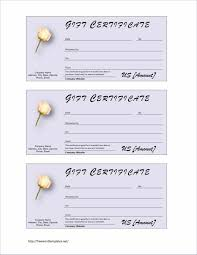 Ms Word Gift Certificate Template Gas Free Certificate Sample Fresh Gift Certificate Template 6