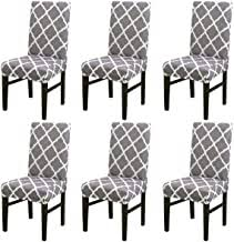 dining chair covers set of 6 - Amazon.co.uk