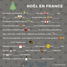 fill in the gaps text in french