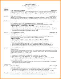Hbs Resume Format Pelosleclaire Com