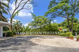 perdana botanical garden in kuala lumpur