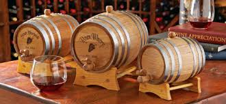Personalized Mini Oak Wine Barrels