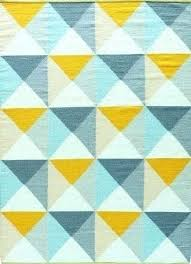 teal and yellow rug blue rugs at studio in design 6 green grey jean hand loomed