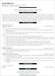Supervisor Resume Samples Production Supervisor Resume Apartment Best Production Supervisor Resume