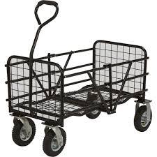 folding garden cart. Advantage Exclusive Strongway Steel Folding Utility Cart \u2014 330-Lb. Capacity, 49in.L X Garden