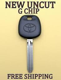 New Toyota G Chip Transponder Master Ignition Uncut Key Blank 89785 08040 Ebay