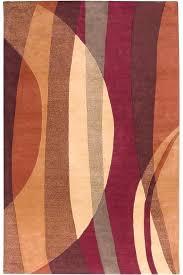 rust colored area rugs area rug rust and blue area rugs