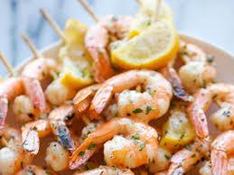 Lemon Garlic Shrimp Kebabs Recipe and ...