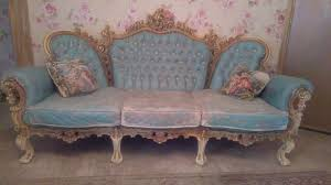 shabby chic sofa. Wonderful Chic Vintage Distressed Funky Sofa Set Shabby Chic And Chic E