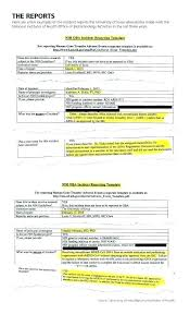 Child Care Incident Report Example Critical Incident Report Form Department Of Sample Letter