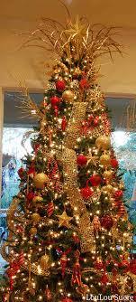 gold-christmas-tree-decorating-ideas