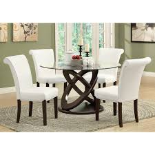 glass top round dining table. Rectangular Glass Dining Table Canada Alasweaspire Top Round