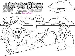 Small Picture Coloring Pages Angry Birds Rio Printables Angry Birds Season