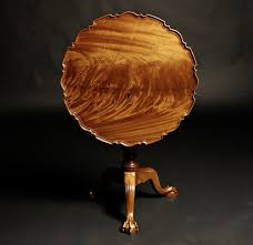top furniture makers. Piecrust Tilt Top Tea Table Handmade By Doucette And Wolfe Furniture Makers S