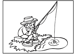 Opportunities Fishing Colouring Pages Coloring Diywordpress Me