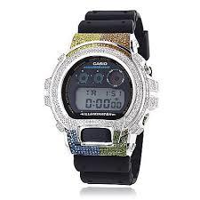 17 best ideas about casio g shock white white g casio 6900 g shock white blue green brown yellow diamonds bezel watch 5ct