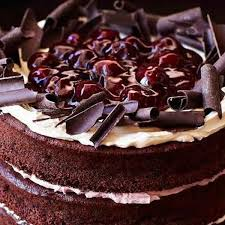 Gluten Free Black Forest Cake The Happy Foodie