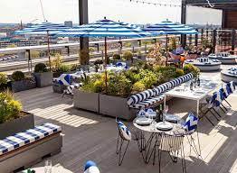 skylark roof garden rooftop bar in