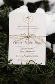best ideas about winter wedding invitations personalized gold and bronze wedding invitations