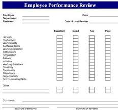 performance review comments performance evaluation templates ii kitchen chef performance