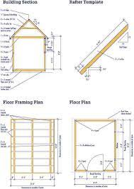 shed blueprints 8x10 free shed plans