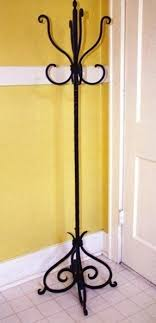 Cast Iron Standing Coat Rack