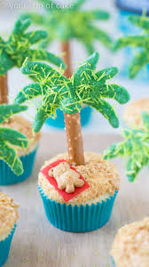 cool cupcake designs with icing. Simple Cupcake Palm Tree Cupcakes On Cool Cupcake Designs With Icing I