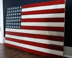 wooden american flag wall art large wooden flag wall art
