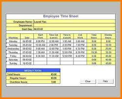 Timecard Calculation Timesheet Calculator Excel Template Chakrii