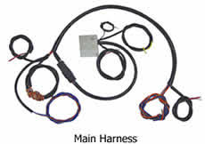 wire harness kits for motorcycle building and re wiring Bobber Wiring Harness main harness for wiring kit designed for bobber or chopper style bikes bobber wiring harness bwh-01